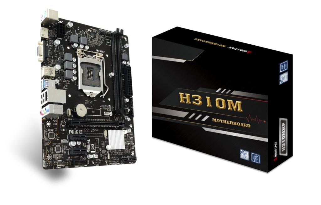 Biostar MB H310MHP H310 S1151 mATX DDR4 Intel