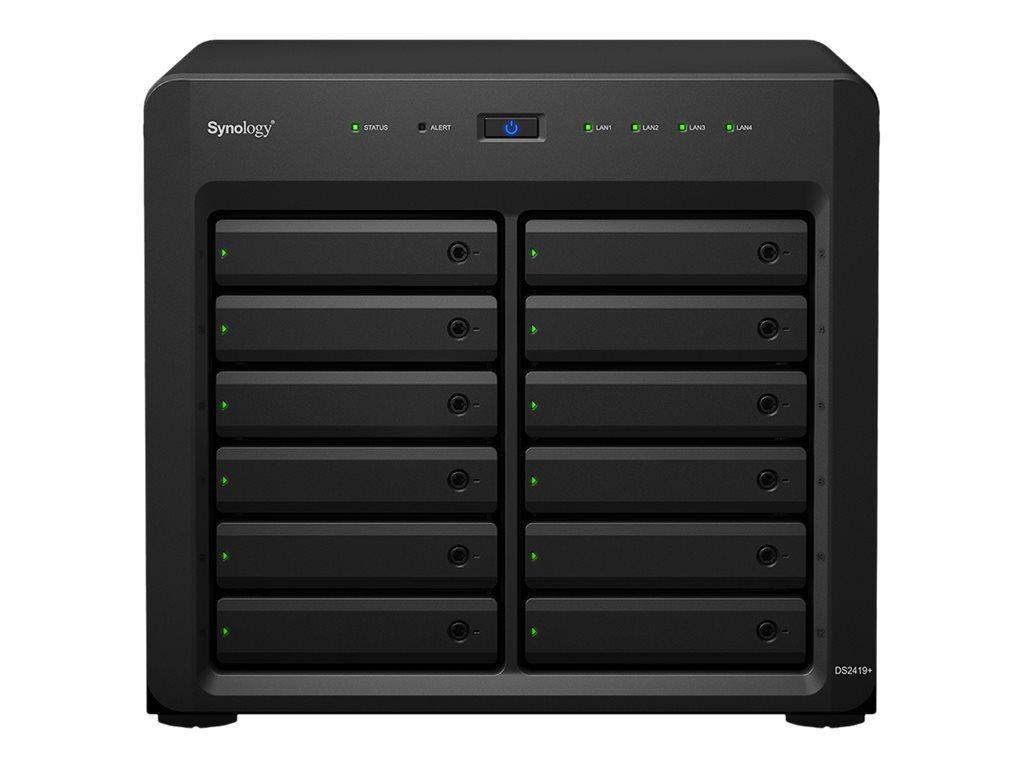 Synology Disk Station DS2419+ - NAS-Server - 12 Schächte