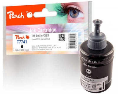 Peach PI200-423 - Kompatibel - Tinte auf Pigmentbasis - Schwarz - Epson - Epson EcoTank ET-3600 Epson EcoTank ET-4550 Epson EcoTank L 655 Epson EcoTank L 1455 Epson... - 1 Stück(e)