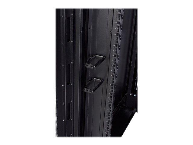 APC Rack-Kabelführungsring - Schwarz (Packung mit 10)