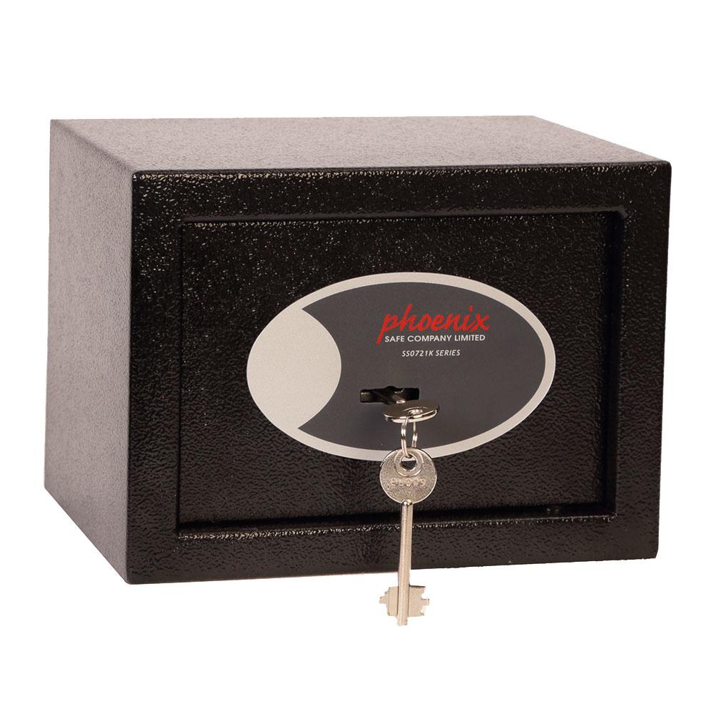 Phoenix Safe Phoenix Compact - Wandtresor - Schwarz - Schlüssel - 4 l - Stahl - 230 mm