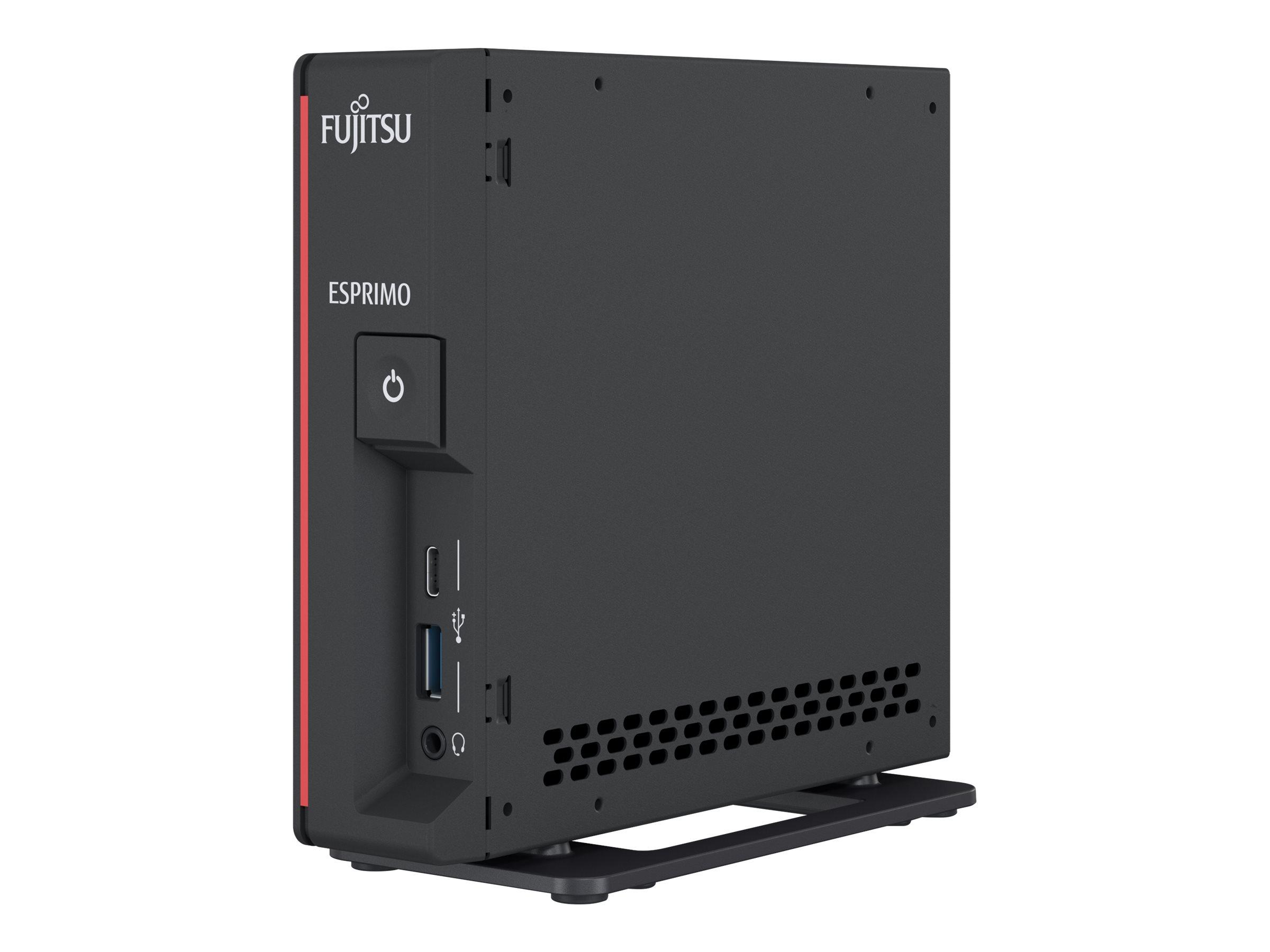 Vorschau: Fujitsu ESPRIMO G5010 - Mini-PC - Core i5 10400T / 2 GHz
