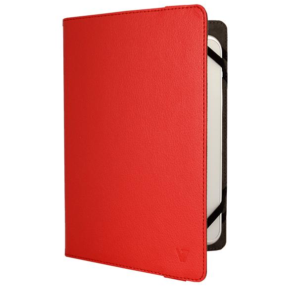 V7 Universal Folio - Schutzabdeckung für Webtablet - Polyurethan-Leder