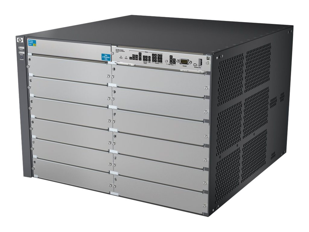 HP 5412 zl Switch Chassis (J9643A) - REFURB