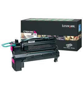 Lexmark C792A1MG Laser cartridge 6000Seiten magenta Lasertoner / Patrone