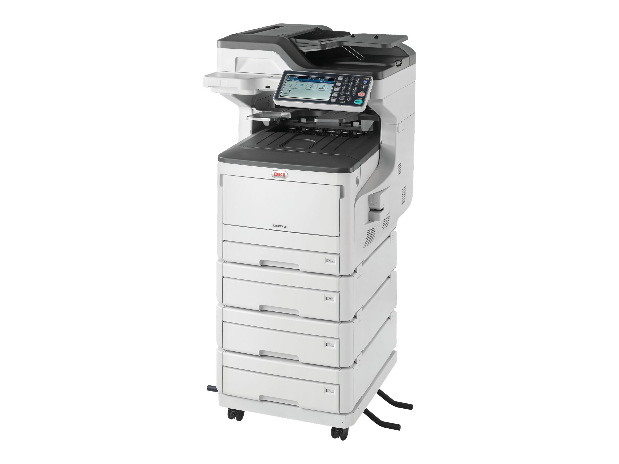 OKI MC873DNV - Multifunktionsdrucker
