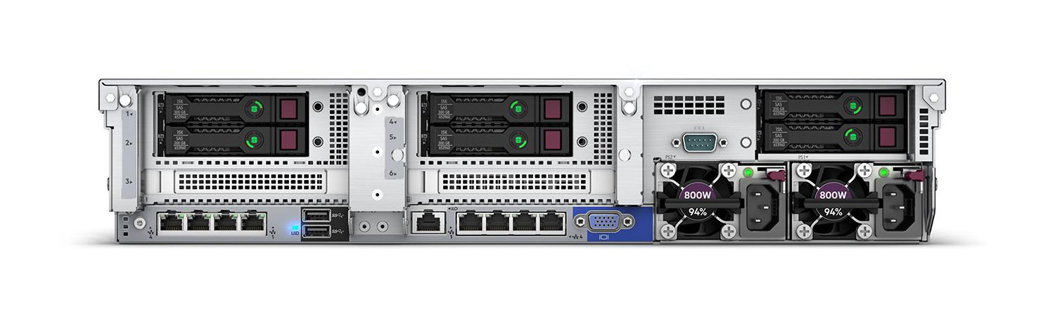 "HP Enterprise ProLiant DL380 Gen10 Network Choice - Server - Rack-Montage - 2U - zweiweg - 1 x Xeon Silver 4214R / 2.4 GHz - RAM 32 GB - SAS - Hot-Swap 6.4 cm (2.5"")"