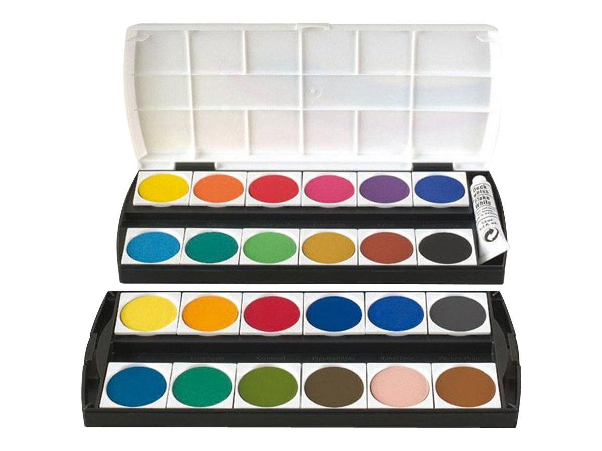 Geha Farbe - verschiedene Farben (Packung mit