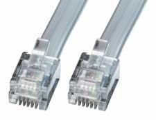 Lindy RJ-12 Kabel Stecker/Stecker - Kabel