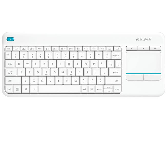 Logitech Wireless Touch Keyboard K400 Plus Tysk