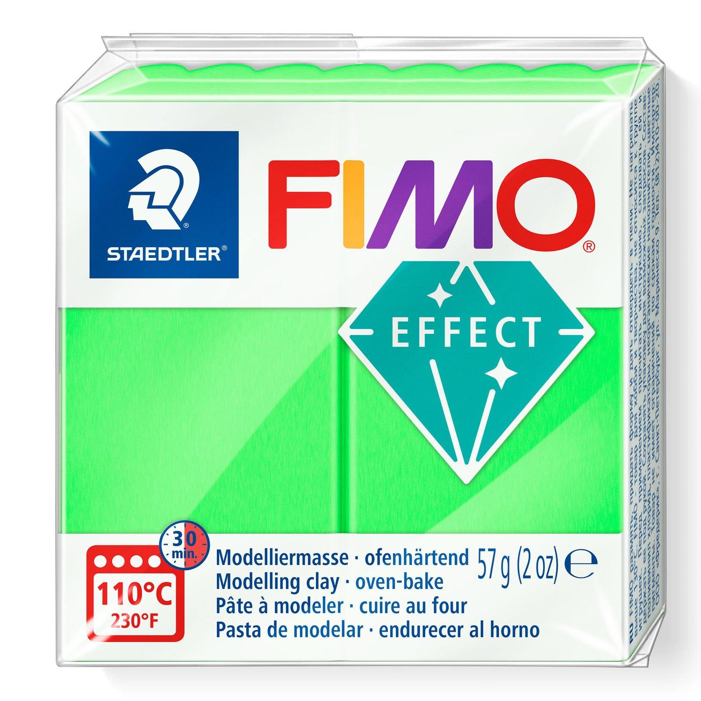 Vorschau: STAEDTLER FIMO 8010 - Knetmasse - Grün - Erwachsene - 1 Stück(e) - Neon green - 1 Farben