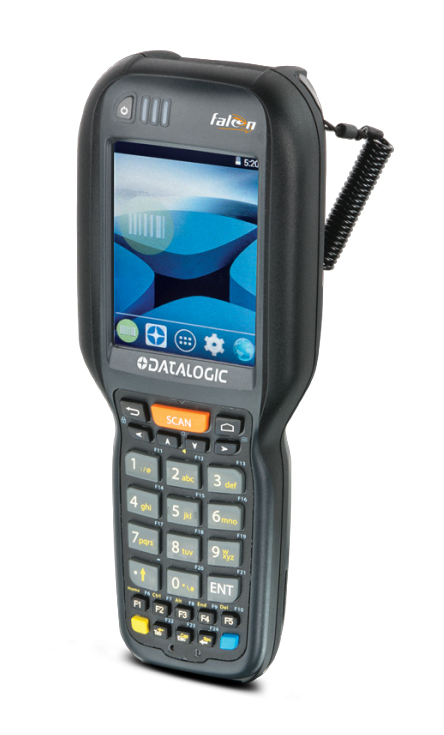 Datalogic Falcon X4 Handheld Mobile Computer 8,89 cm (3.5 Zoll) 240 x 320 Pixel Touchscreen 602 g Schwarz