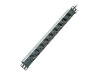 19.07.1620 9AC outlet(s) Schwarz - Weiß Stromverteilereinheit (PDU)