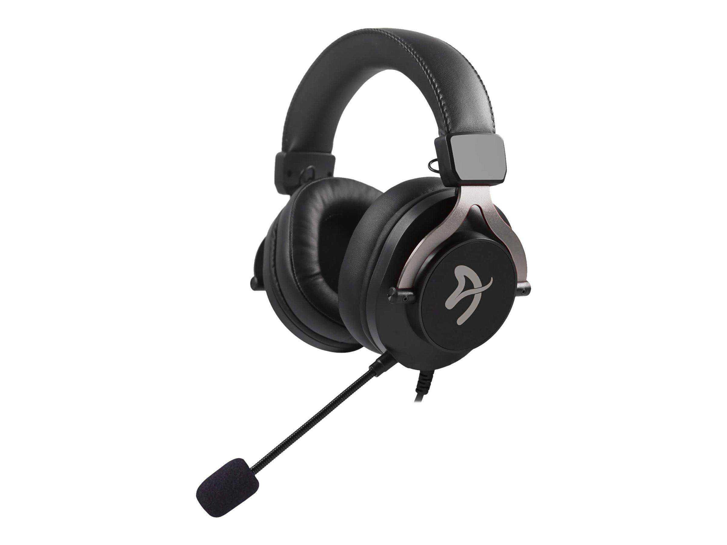 Arozzi Aria - Headset - ohrumschließend - kabelgebunden - 3,5 mm Klinke