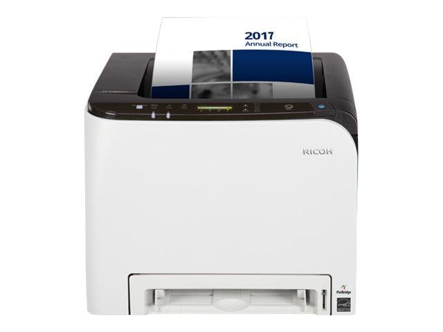 Ricoh SP C260DNw - Drucker - Farbe - Duplex - Laser - A4/Legal - 2400 x 600 dpi - bis zu 20 Seiten/Min. (einfarbig)/