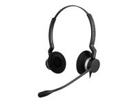 BIZ 2300 QD Duo Binaural Kopfband Schwarz Headset