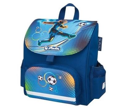 Herlitz 50008155 - Mini Softbag Soccer - Kindergartenrucksack - Jungen - 4 l