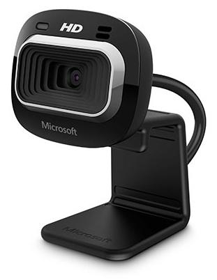 Microsoft LifeCam HD-3000 for Business - 1 MP - 1280 x 720 Pixel - 30 fps - 720p - 4x - 1280 x 800