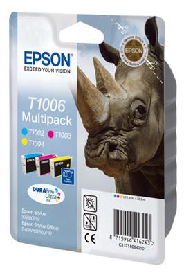 Epson-C13T10064020-Rhino-Multipack-3-colours-T1006-DURABrite-Ultra-Ink thumbnail 3