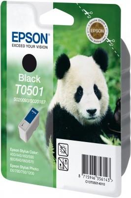 Epson T0501 - Druckerpatrone - 1 x Schwarz