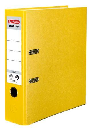 Vorschau: Herlitz 9942715 - A4 - Polypropylen (PP) - Gelb - 8 cm - 5 Stück(e)