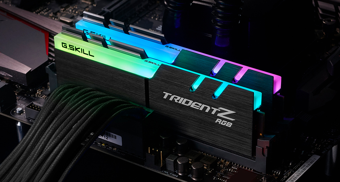G.Skill TridentZ RGB Series - DDR4 - 64 GB: 2 32 GB
