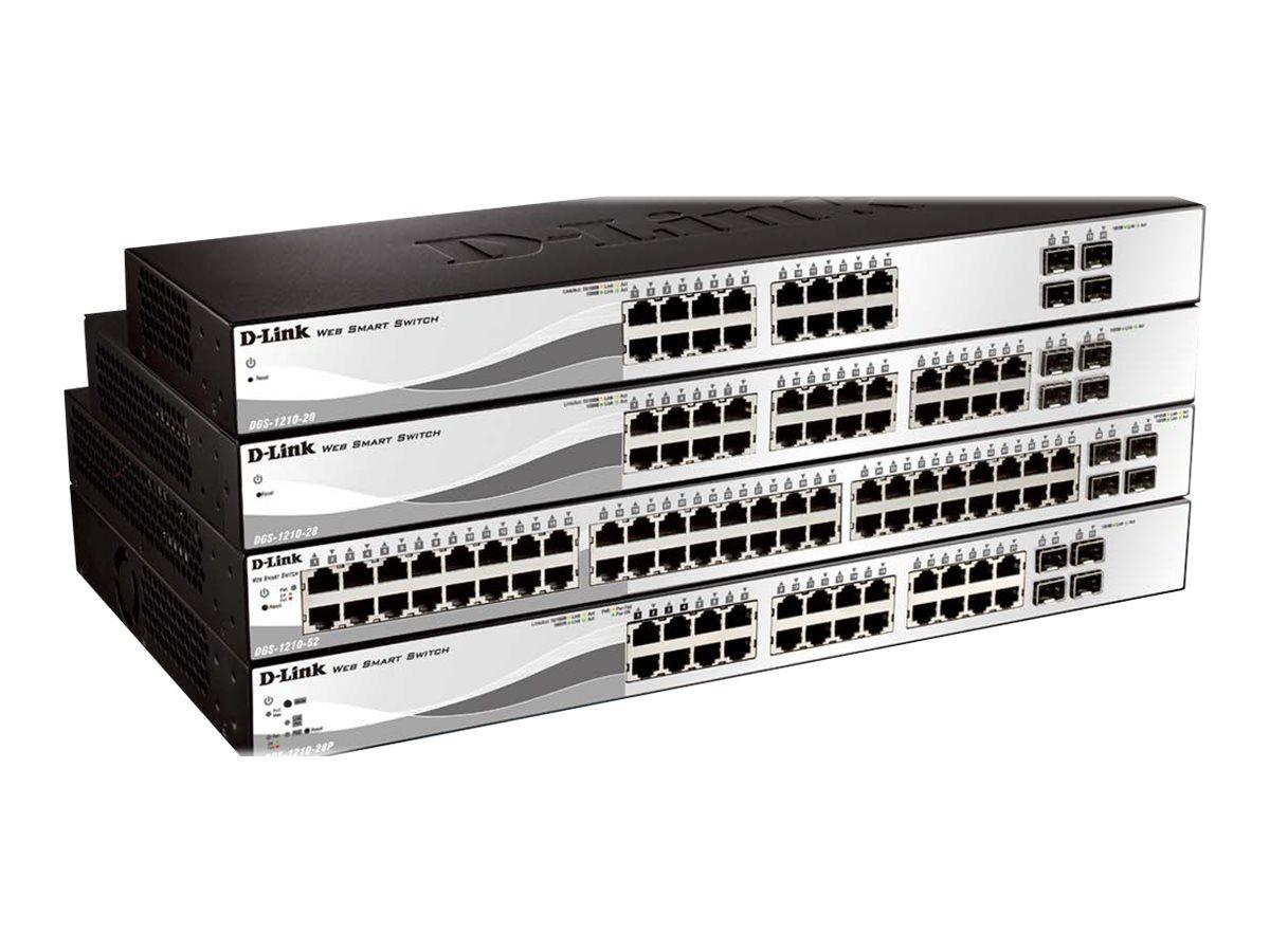 D-Link Web Smart DGS-1210-20 - Switch - managed