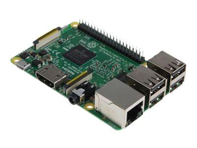 Raspberry Pi Pi 3 Model B - Einplatinenrechner - Broadcom BCM2837 / 1.2 GHz