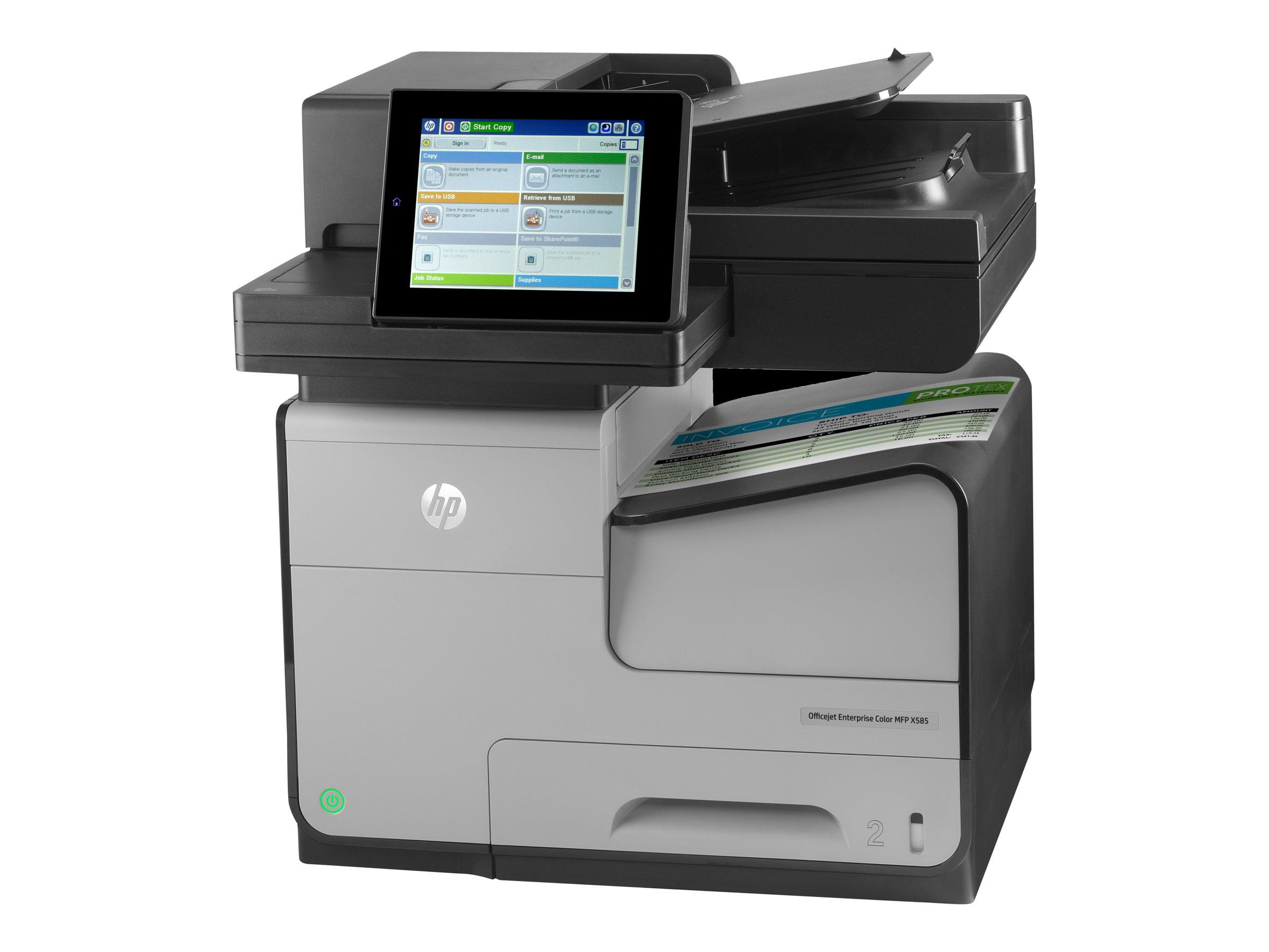 Vorschau: HP Officejet Enterprise Color Flow X585z