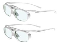 3D glasses E4w White / Silver Steroskopische 3-D Brille Silber - Weiß 1 Stück(e)