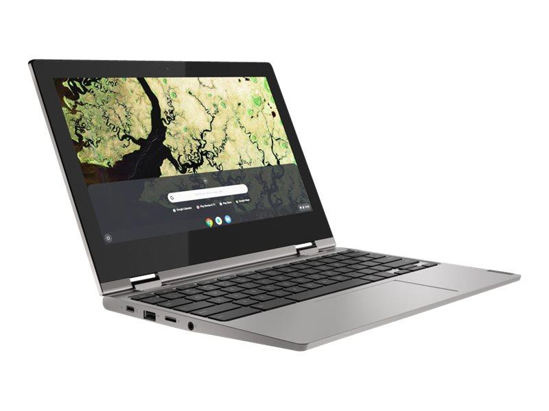 Lenovo Chromebook C340-11 81TA - Flip-Design - Celeron N4000 / 1.1 GHz - Chrome OS - 4 GB RAM - 64 GB eMMC eMMC 5.1 - 29