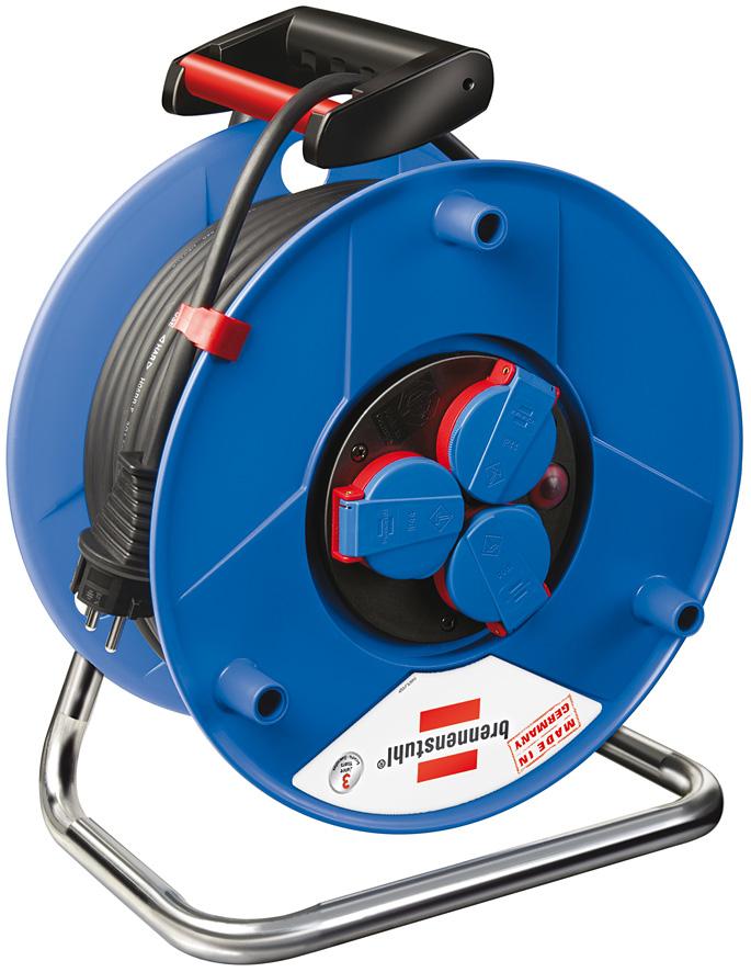 Brennenstuhl Garant IP44 cable reel 40m H05RR-F 3G2,5