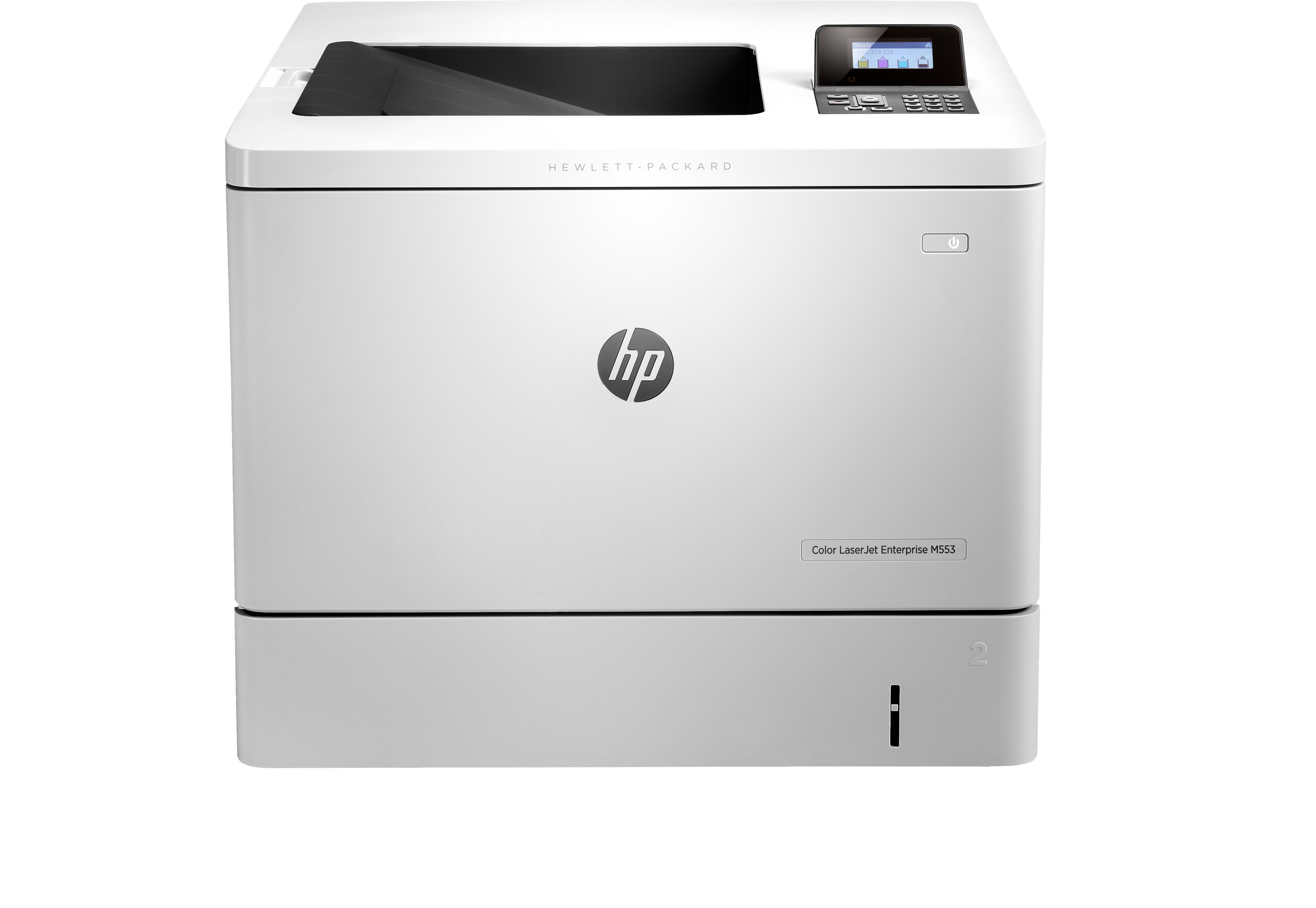 HP Color LaserJet Enterprise M553n, Farblaser, A4