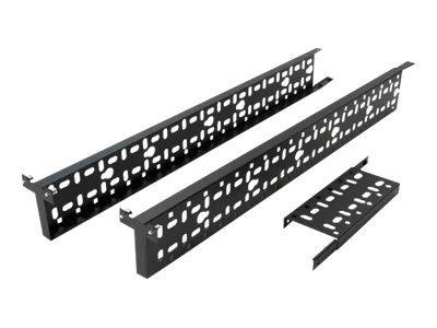 APC Rack - Kabelführungssatz - Schwarz - für
