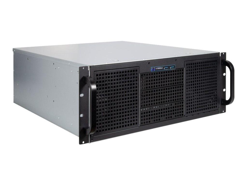 Vorschau: Inter-Tech IPC 4U-40248 - Rack-Montage - 4U - SSI CEB - ohne Netzteil (ATX)