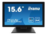 ProLite T1634MC-B5X Touchscreen-Monitor 39,6 cm (15.6 Zoll) 1366 x 768 Pixel Schwarz Multi-touch Multi-Nutzer