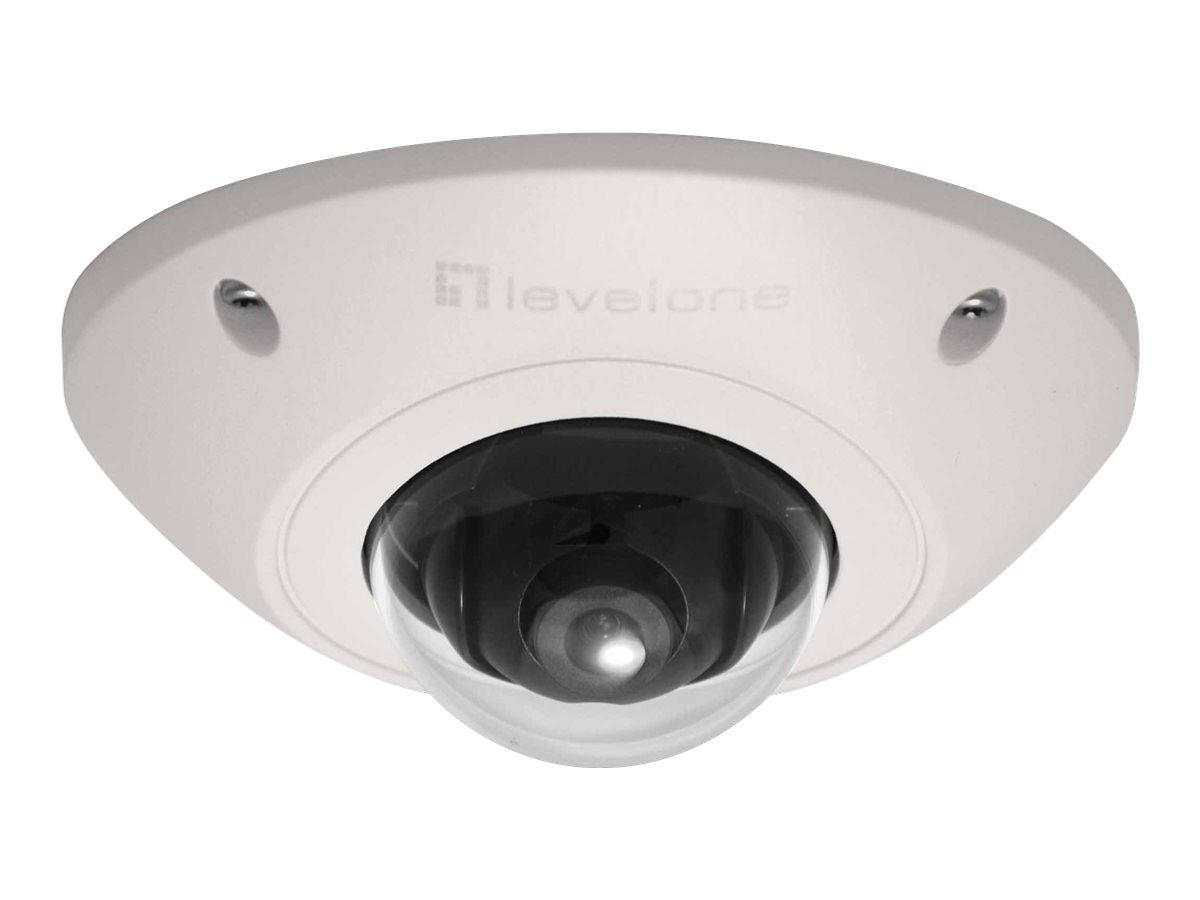 LevelOne FCS-3073 - Netzwerk-Überwachungskamera - Kuppel - Außenbereich - Vandalismussicher / Wetterbeständig - Farbe (Tag&Nacht)