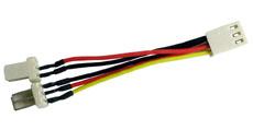Lindy Adapter für CPU Lüfter 2 an 1 - Adapter