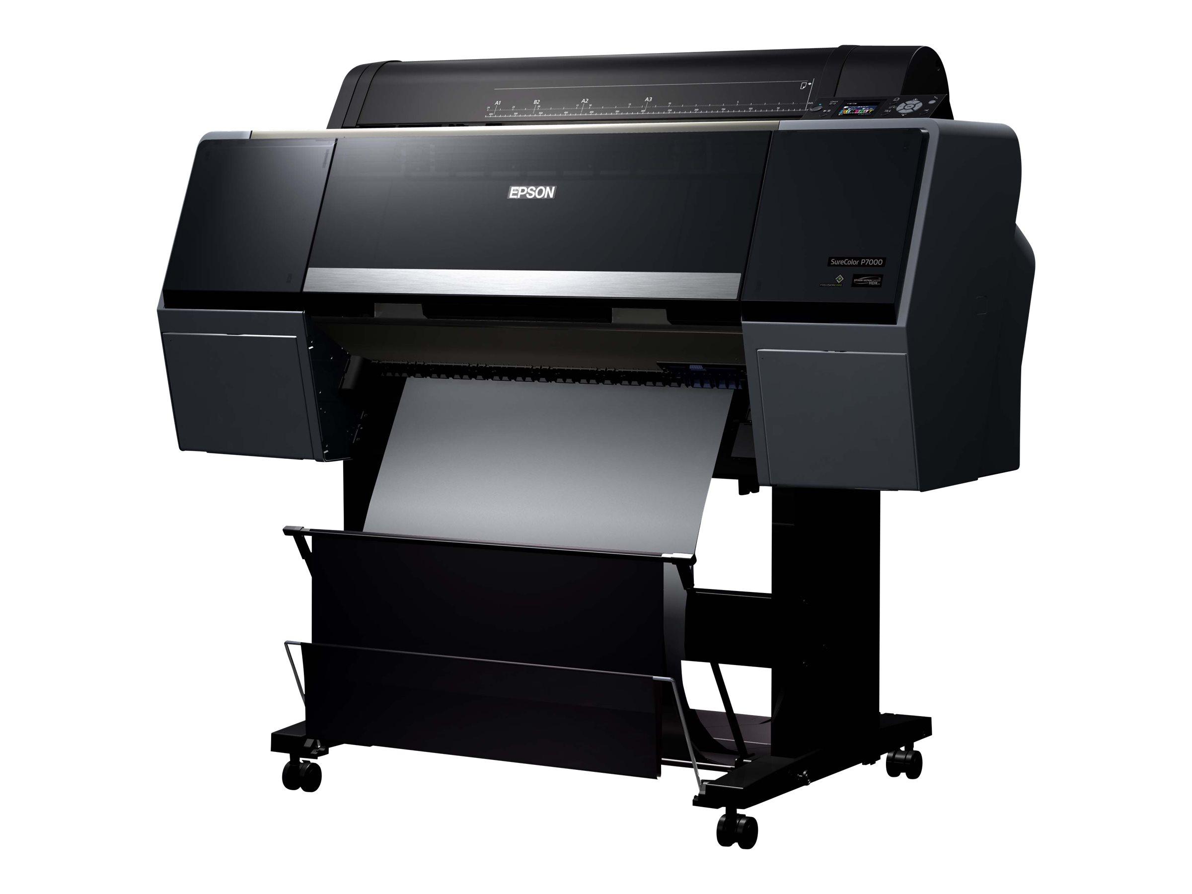 """Epson SureColor SC-P7000V - 610 mm (24"""") Großformatdrucker - Farbe - Tintenstrahl - Rolle (61 cm)"""