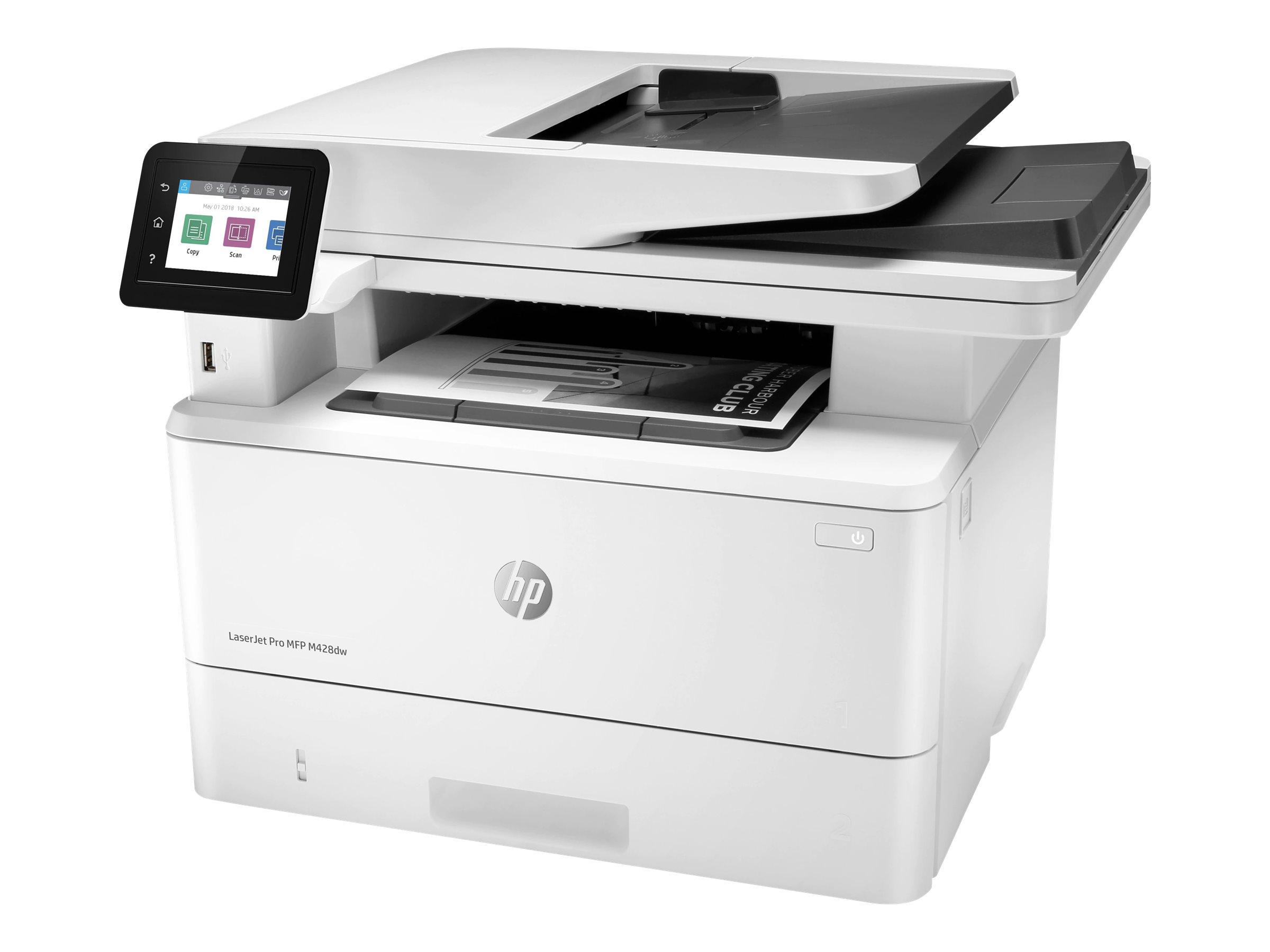 HP LaserJet Pro MFP M428dw - Multifunktionsdrucker - s/w - Laser - Legal (216 x 356 mm)
