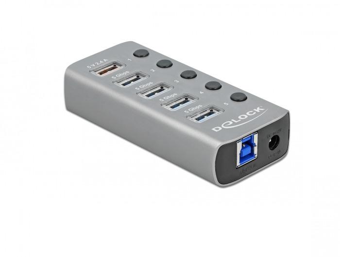 Delock Hub - 4 x USB 3.2 Gen 1 - Desktop