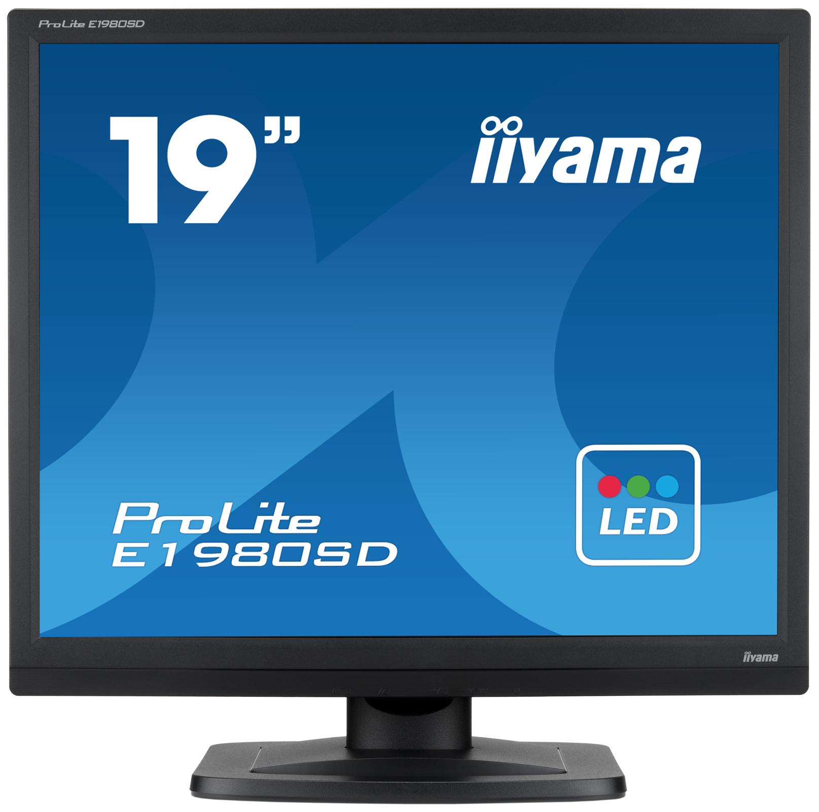 Iiyama ProLite E1980SD - 48,3 cm (19 Zoll) - 1280 x 1024 Pixel - SXGA - LED - 5 ms - Schwarz