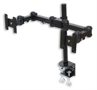 Manhattan 420808 Schwarz Flachbildschirm-Tischhalterung