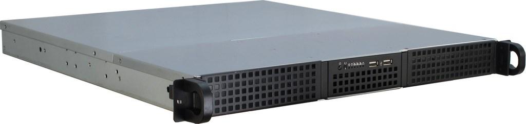 Inter-Tech IPC 1U-10248 - Rack - Server - Stahl - Schwarz - ATX,Micro ATX,Mini-ITX - Festplatte - Netzwerk - Leistung