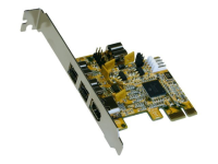 4-port FireWire 1394B PCI-Express Card Schnittstellenkarte/Adapter