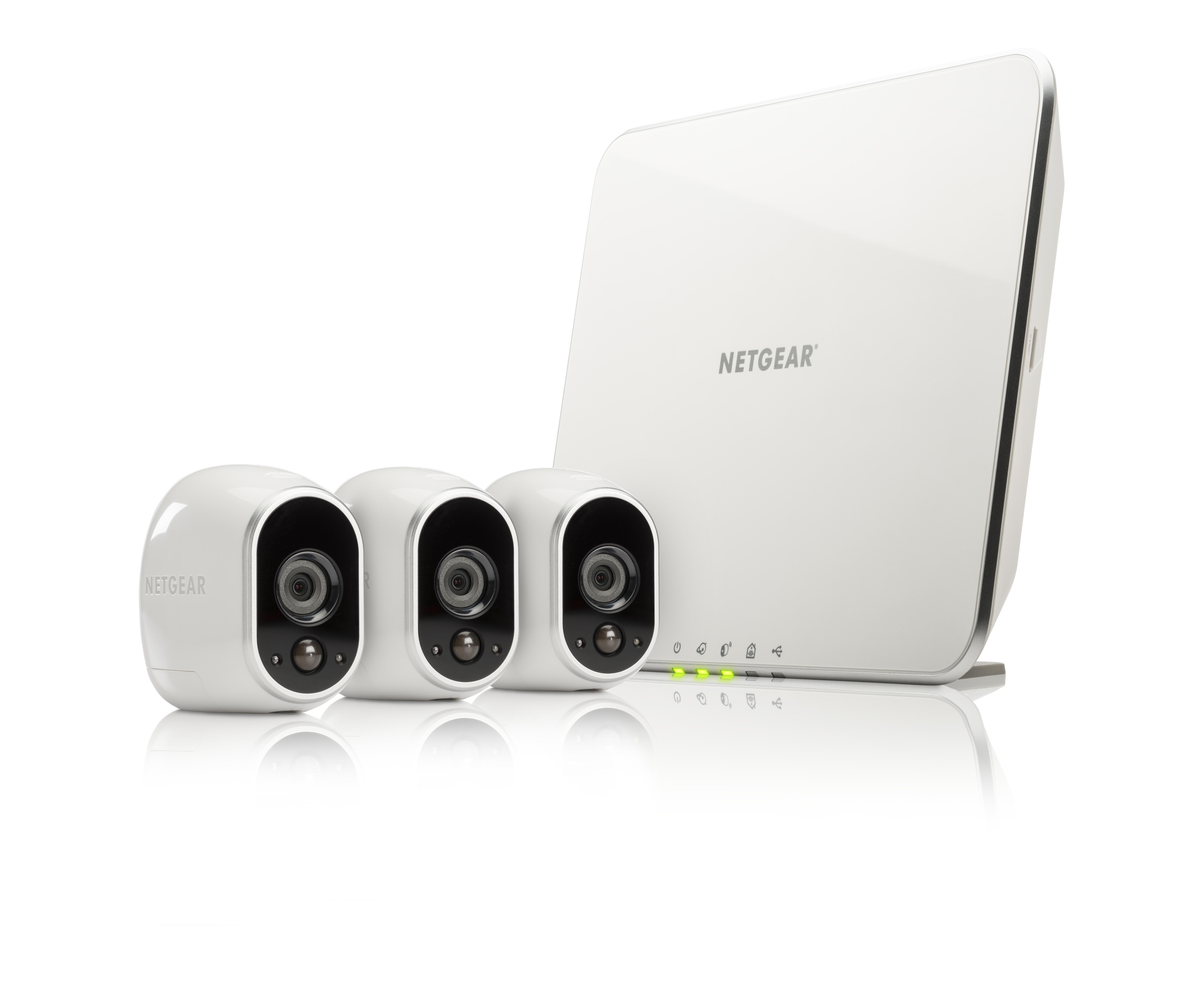 Netgear VMS3330 IP security camera Innen & Außen Geschoss Weiß