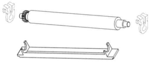 Zebra Druckwalze - für Zebra TTP 2010, TTP 2020
