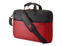15.6 Duotone Red BriefCase 15.6Zoll Aktenkoffer Schwarz - Rot