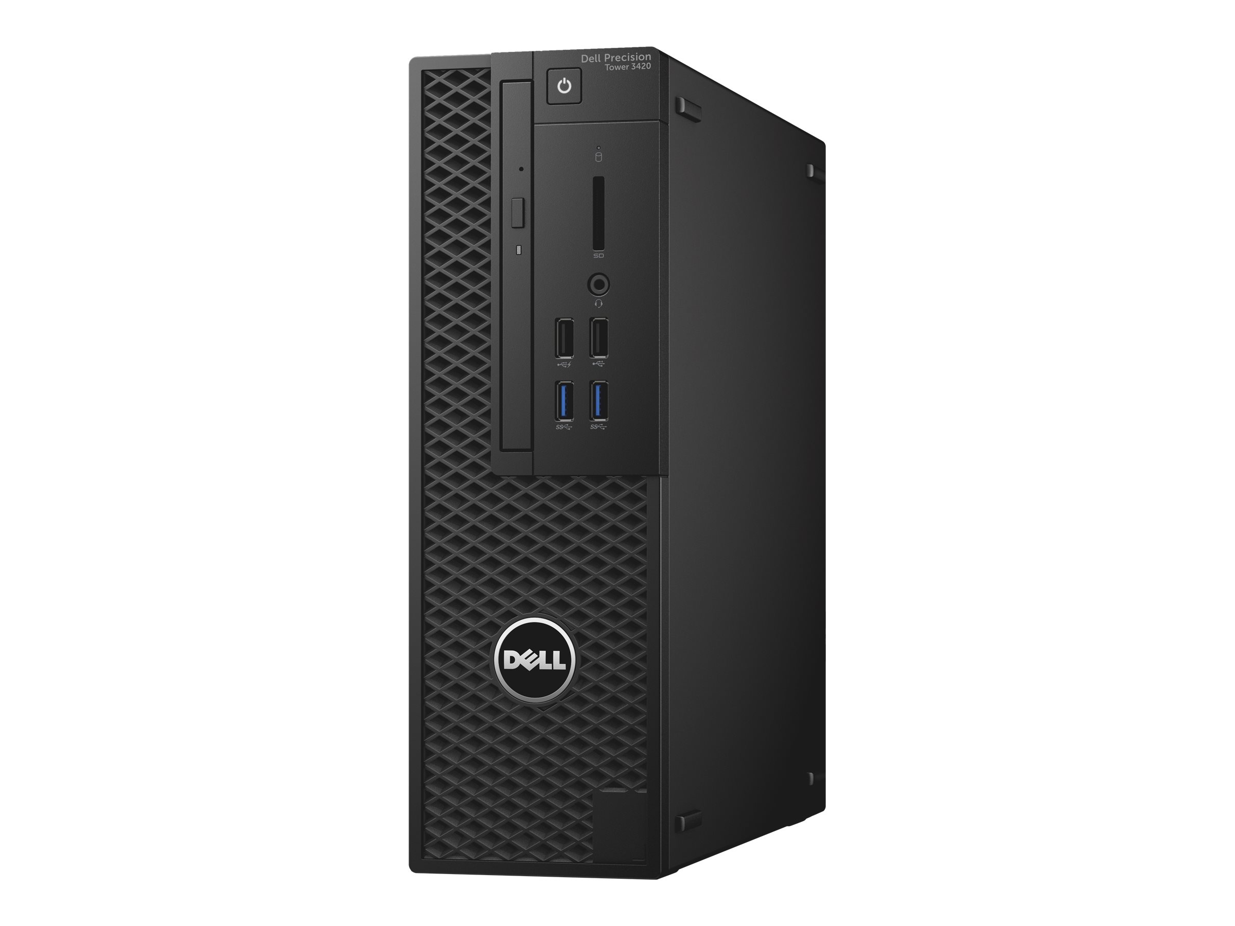 Dell Precision Tower 3420 - SFF - 1 x Xeon E3-1225V6 / 3.3 GHz