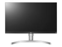 27UK650-W LED display 68,6 cm (27 Zoll) 4K Ultra HD Flach Schwarz - Silber - Weiß